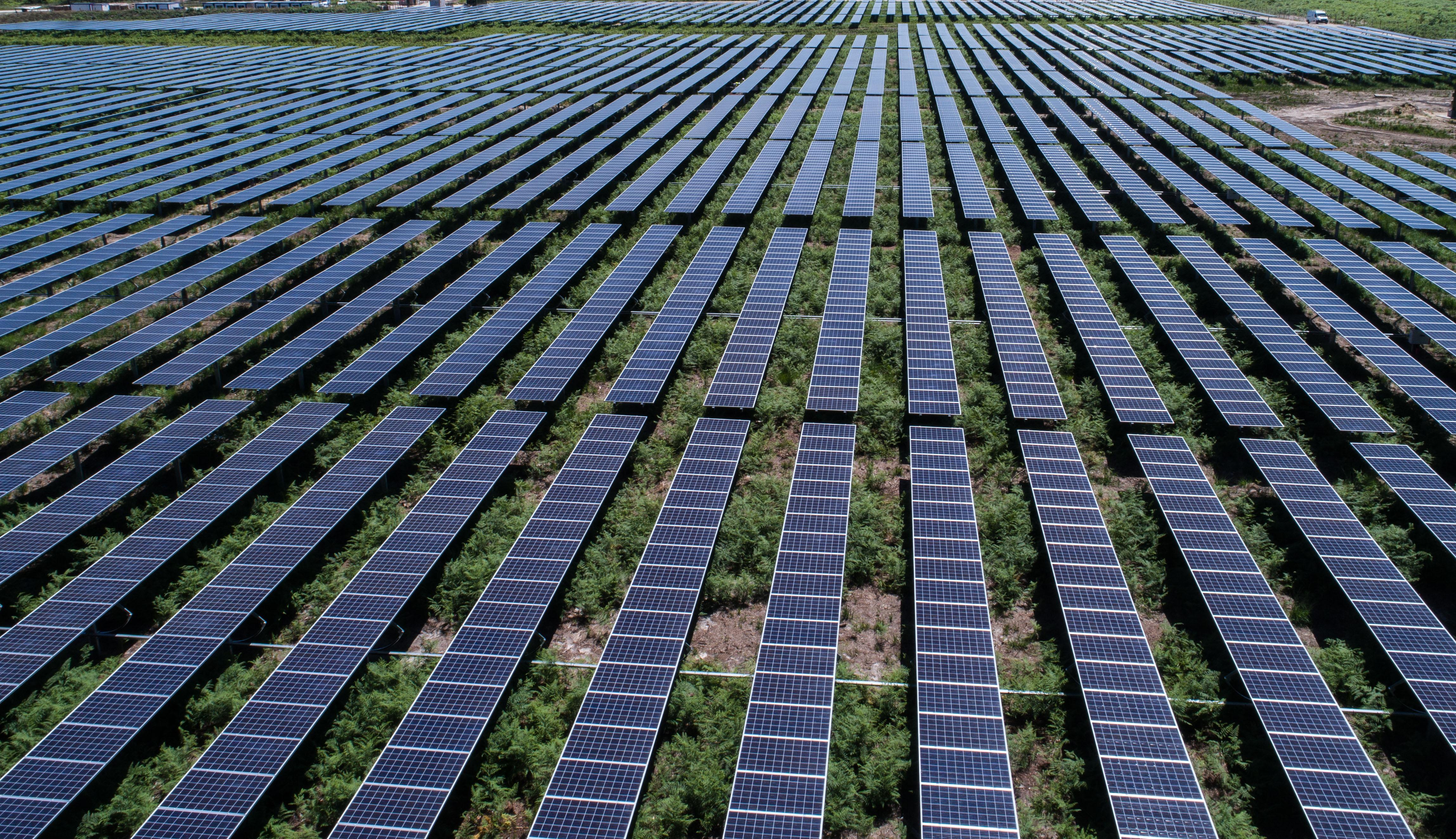 Les parcs photovoltaïques du Médoc